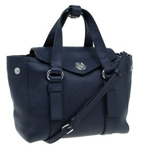 Marc Jacobs Black Leather Working Girl Satchel